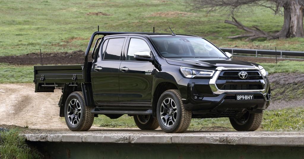 Toyota Hilux 2020 ra mat Australia anh 3