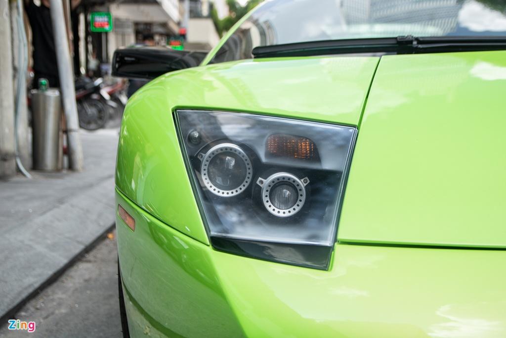 Lamborghini Murcielago mau xanh com doc nhat VN anh 8