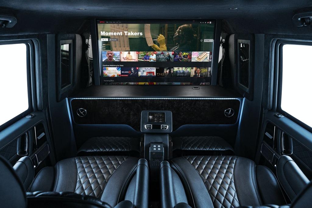 Mercedes-AMG G 63 VIP Limo ra mat anh 10