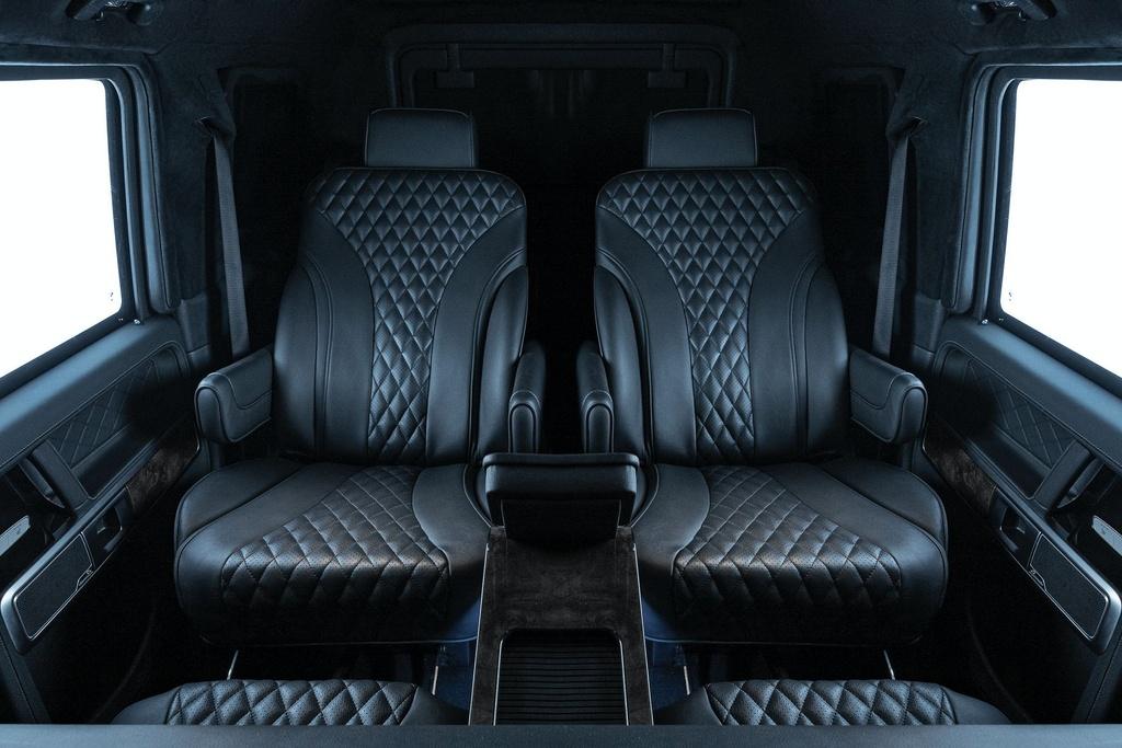 Mercedes-AMG G 63 VIP Limo ra mat anh 6