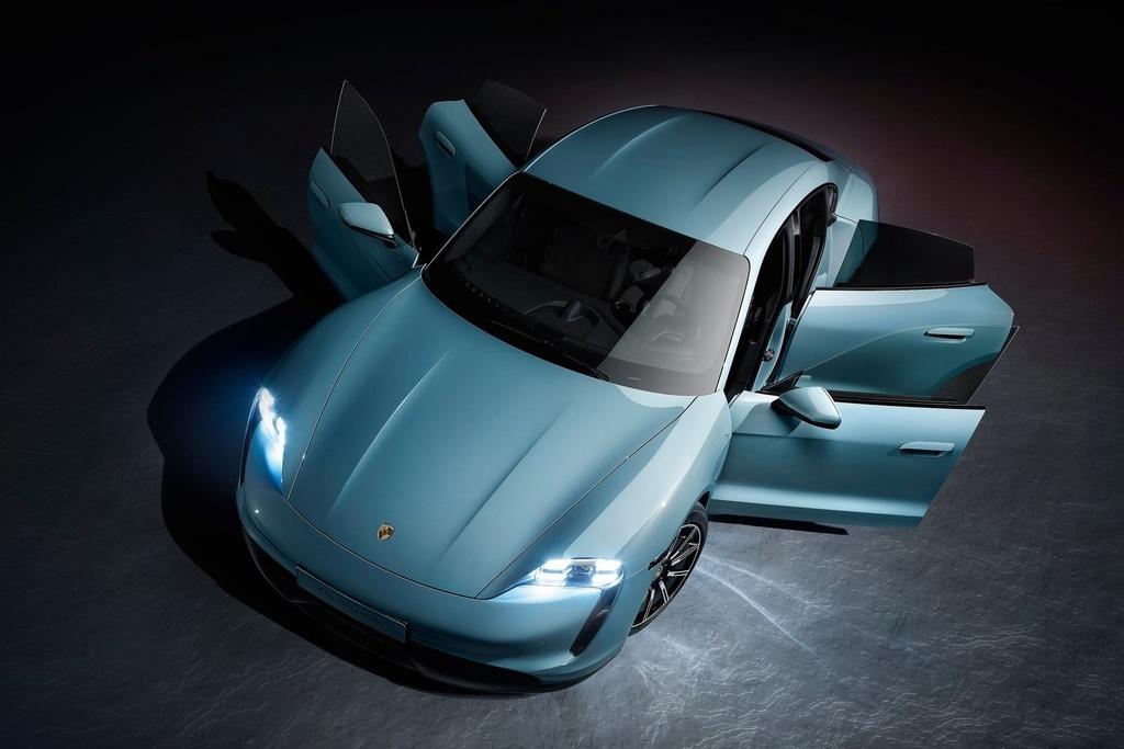Porsche Taycan 2021 bo sung nhieu cong nghe anh 8