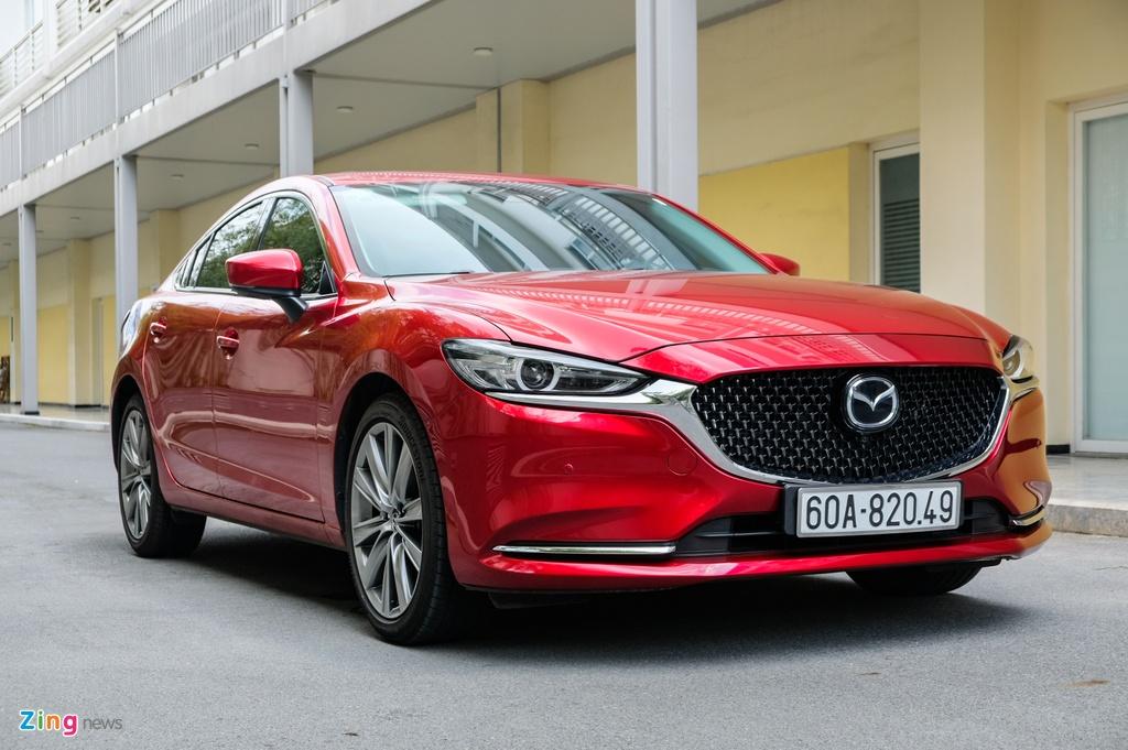 Chi tiet Mazda6 2.0L Premium 2020 anh 1