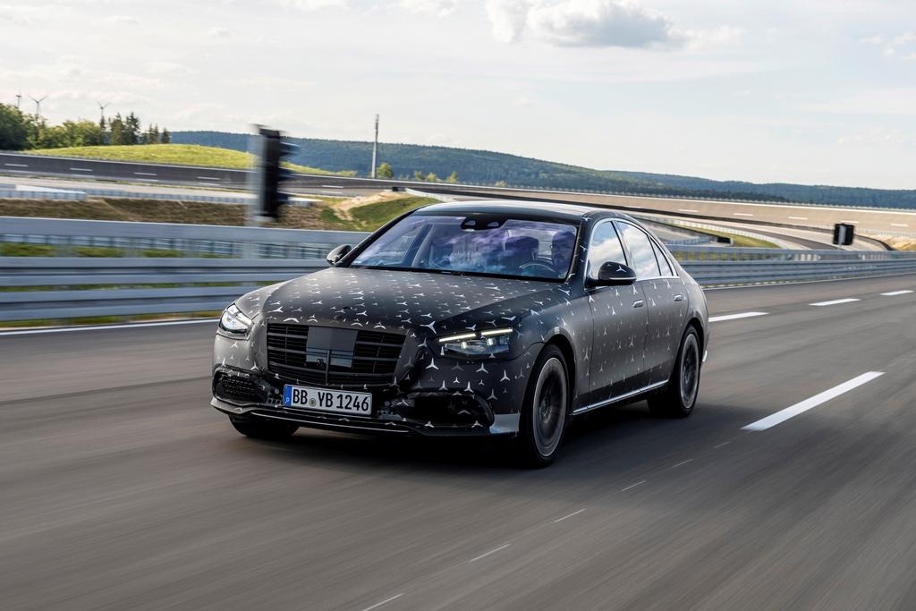 Mercedes-Benz S-Class ra mat anh 1