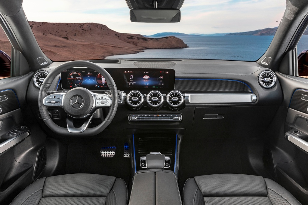 Mercedes-Benz GLB ra mat VN anh 4