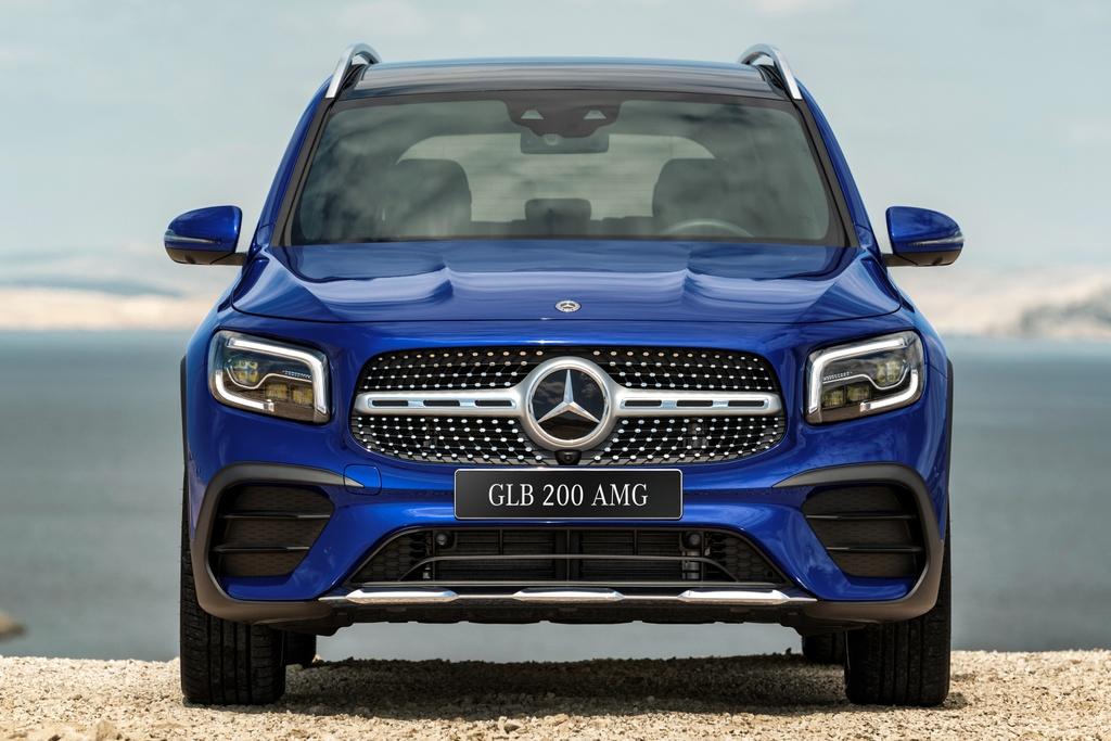 Mercedes-Benz GLB ra mat VN anh 1