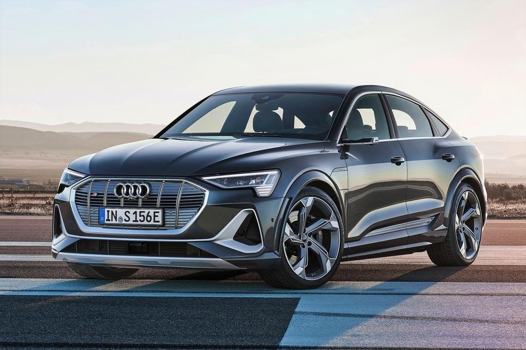 Audi e-tron Sportback  ra mat Anh anh 1
