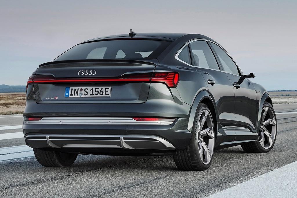 Audi e-tron Sportback  ra mat Anh anh 2
