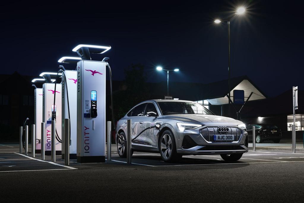 Audi e-tron Sportback  ra mat Anh anh 7