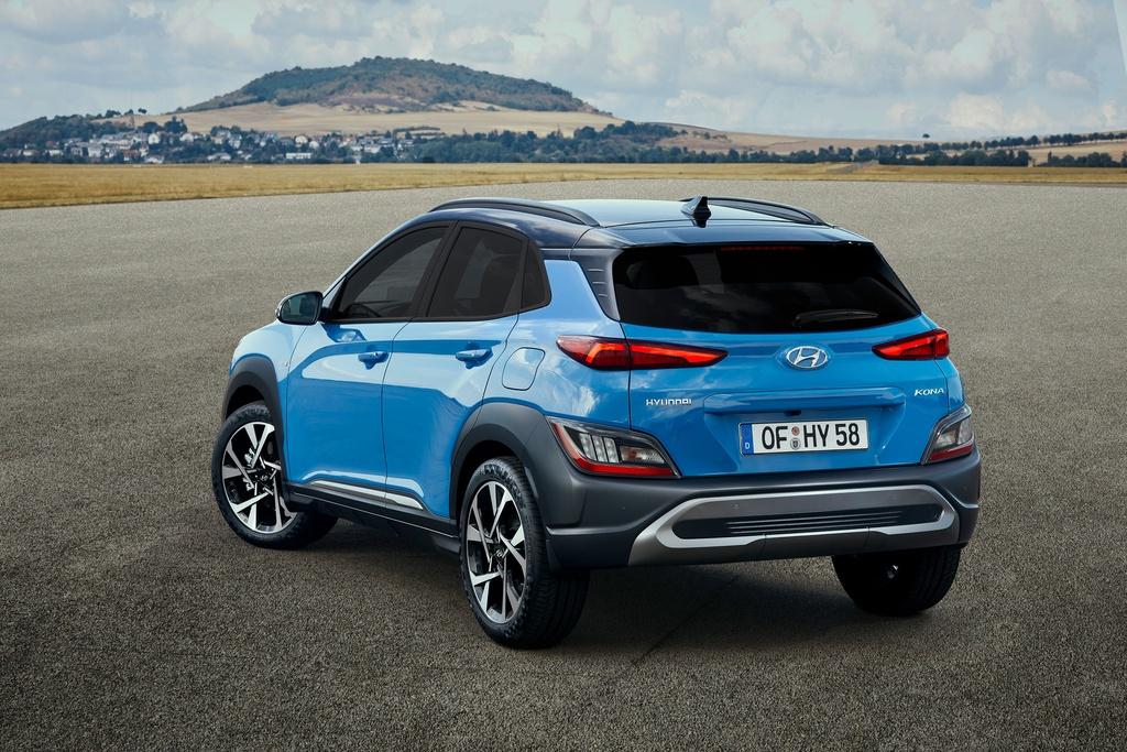 Hyundai Kona 2021 ra mat anh 5