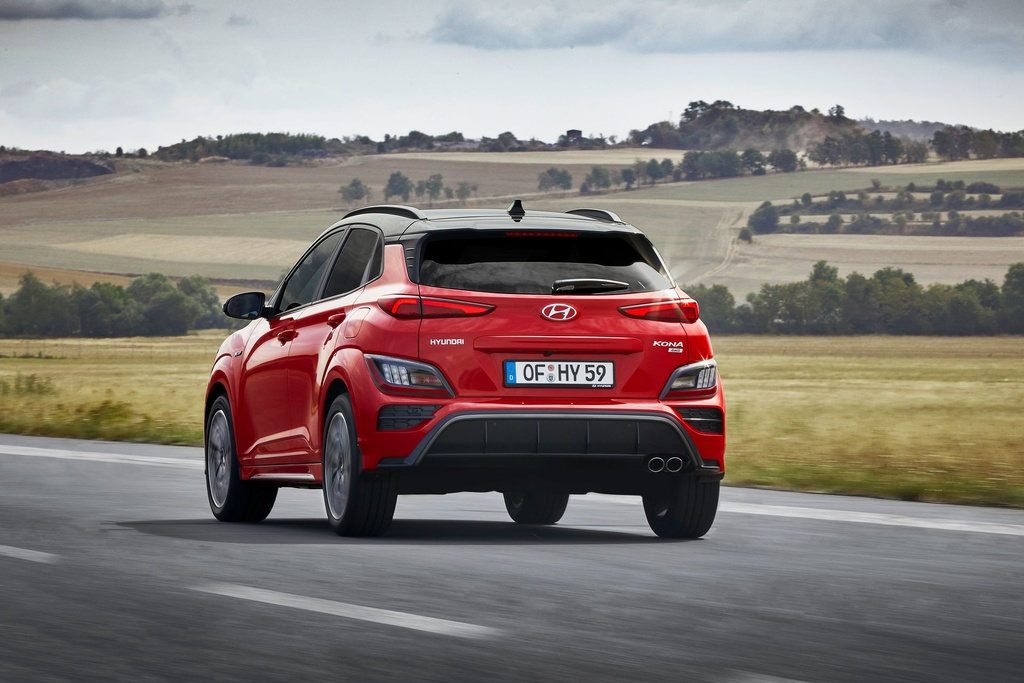 Hyundai Kona 2021 ra mat anh 7