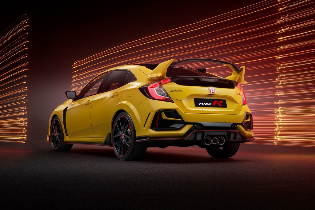 Honda Civic Type R Limited Edition 2021 ra mat anh 2
