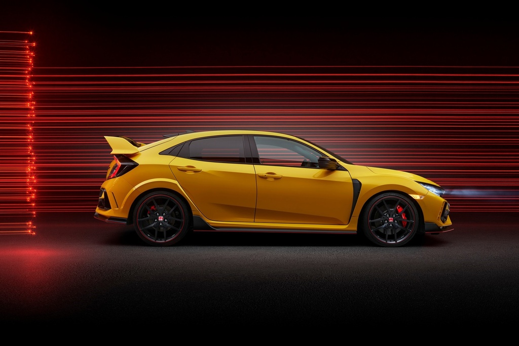 Honda Civic Type R Limited Edition 2021 ra mat anh 3
