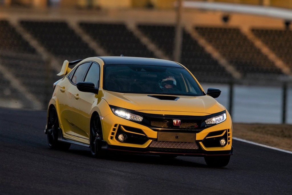 Honda Civic Type R Limited Edition 2021 ra mat anh 1