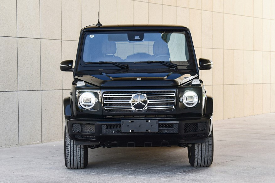 Mercedes-Benz G 350 ra mat Trung Quoc anh 3