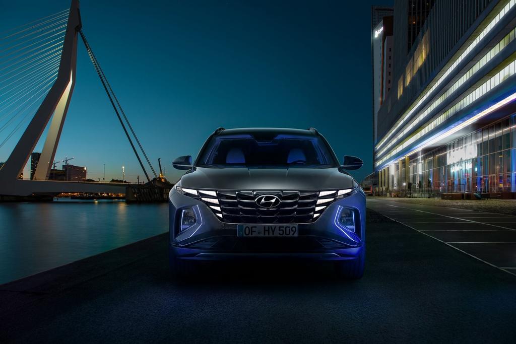 Hyundai Tucson 2021 duoc ra mat anh 2