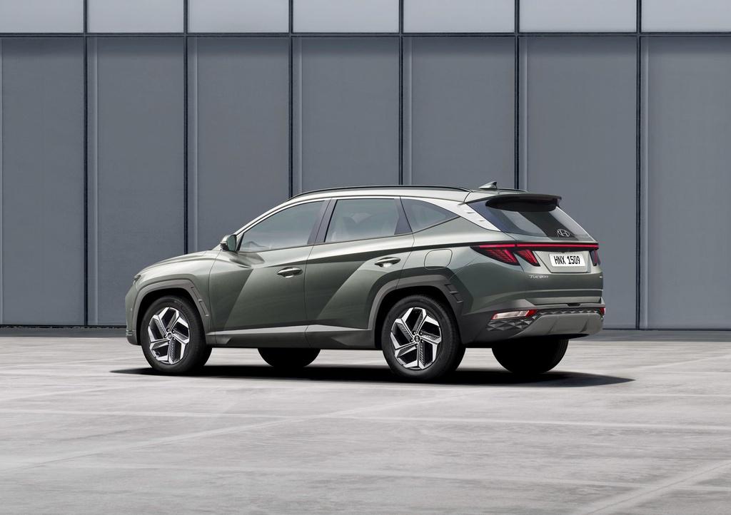 Hyundai Tucson 2021 duoc ra mat anh 3