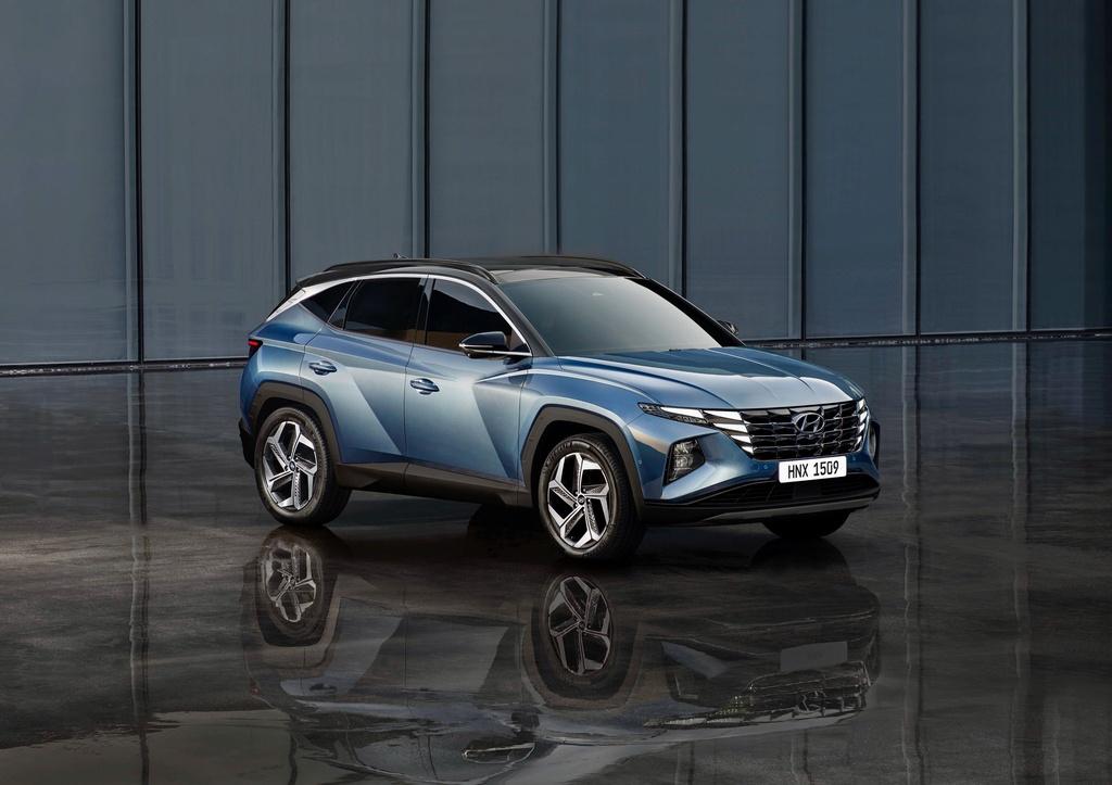 Hyundai Tucson 2021 duoc ra mat anh 9