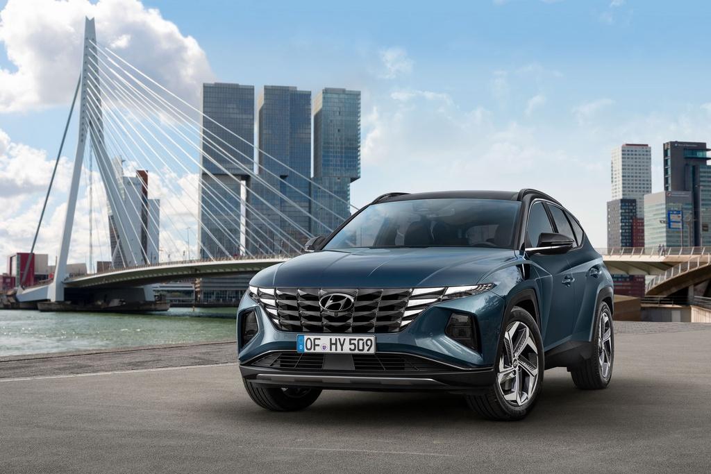 Hyundai Tucson 2021 duoc ra mat anh 1