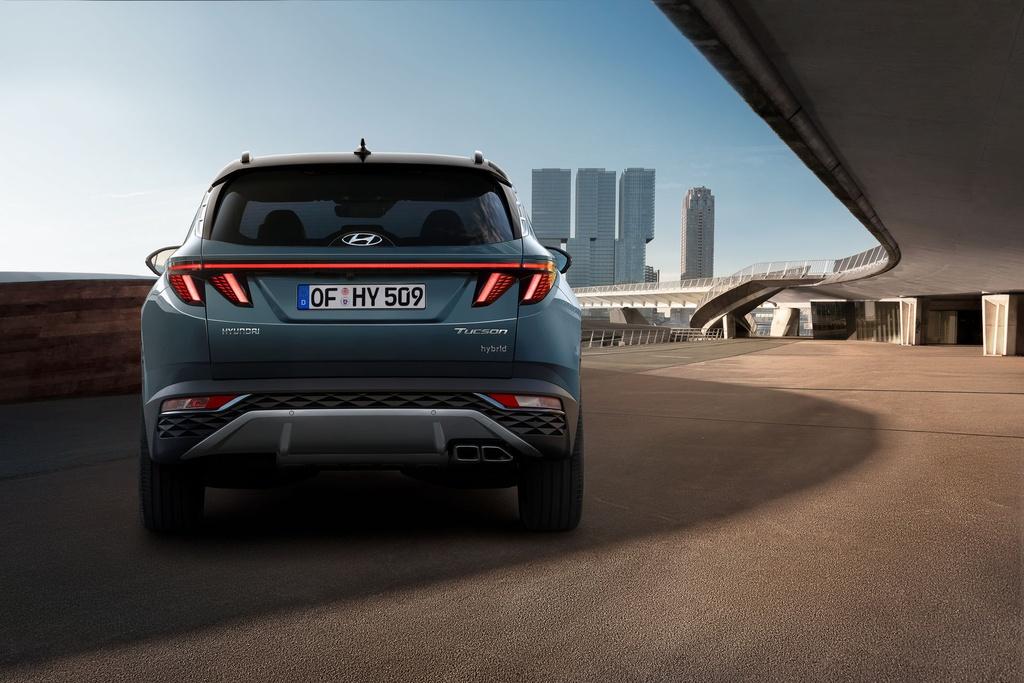 Hyundai Tucson 2021 duoc ra mat anh 8
