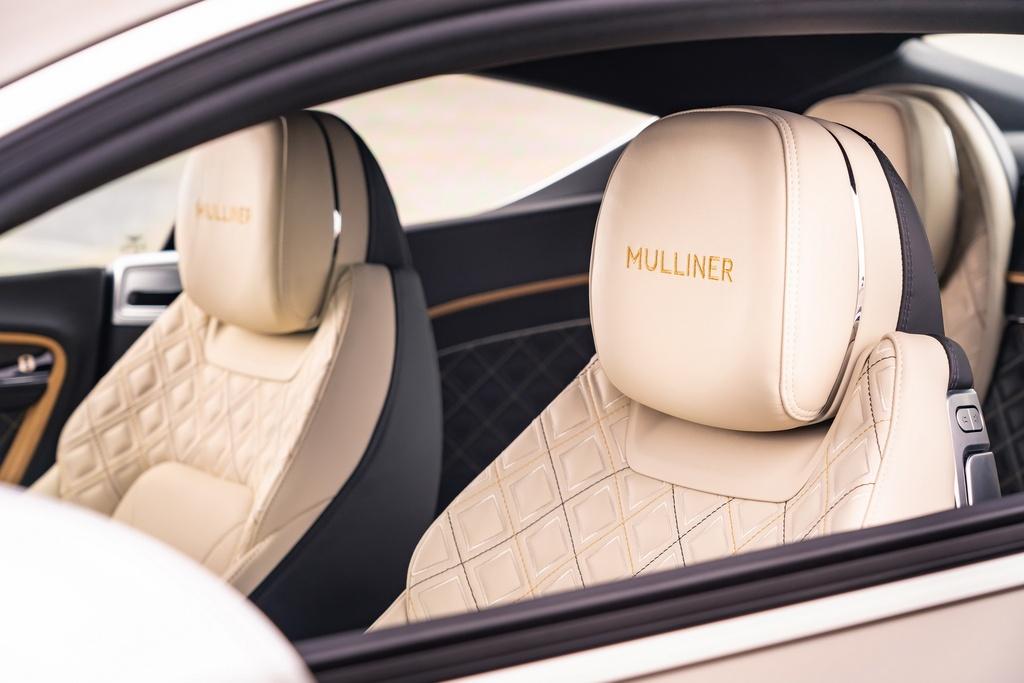 Bentley Continental GT Mulliner duoc ra mat anh 6