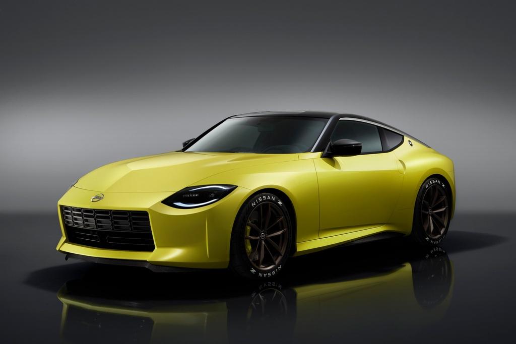Nissan gioi thieu Z-car the he moi anh 1