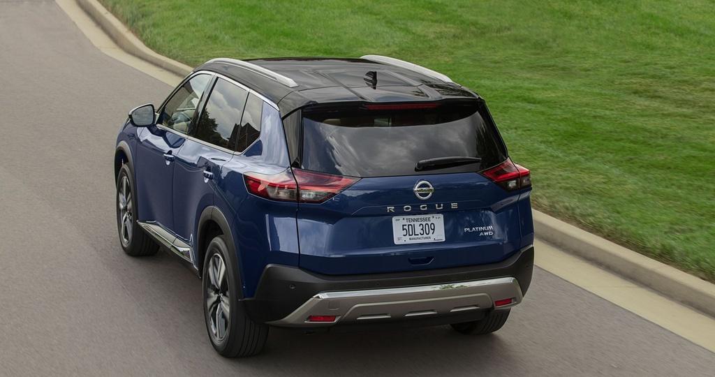Nissan Rogue 2021 ra mat anh 2