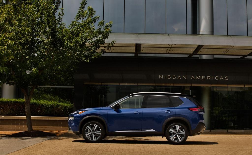 Nissan Rogue 2021 ra mat anh 6