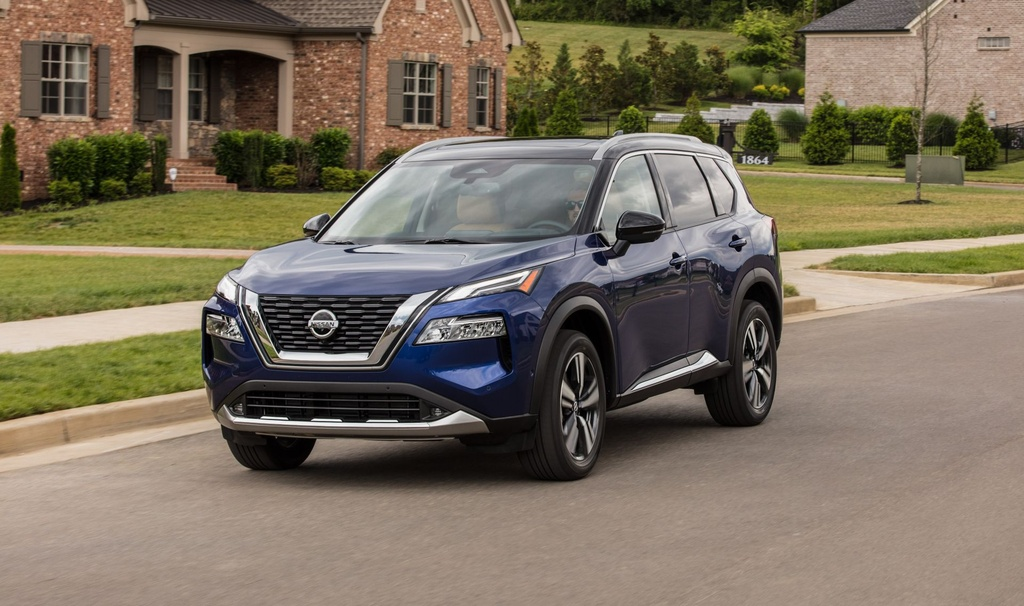 Nissan Rogue 2021 ra mat anh 1