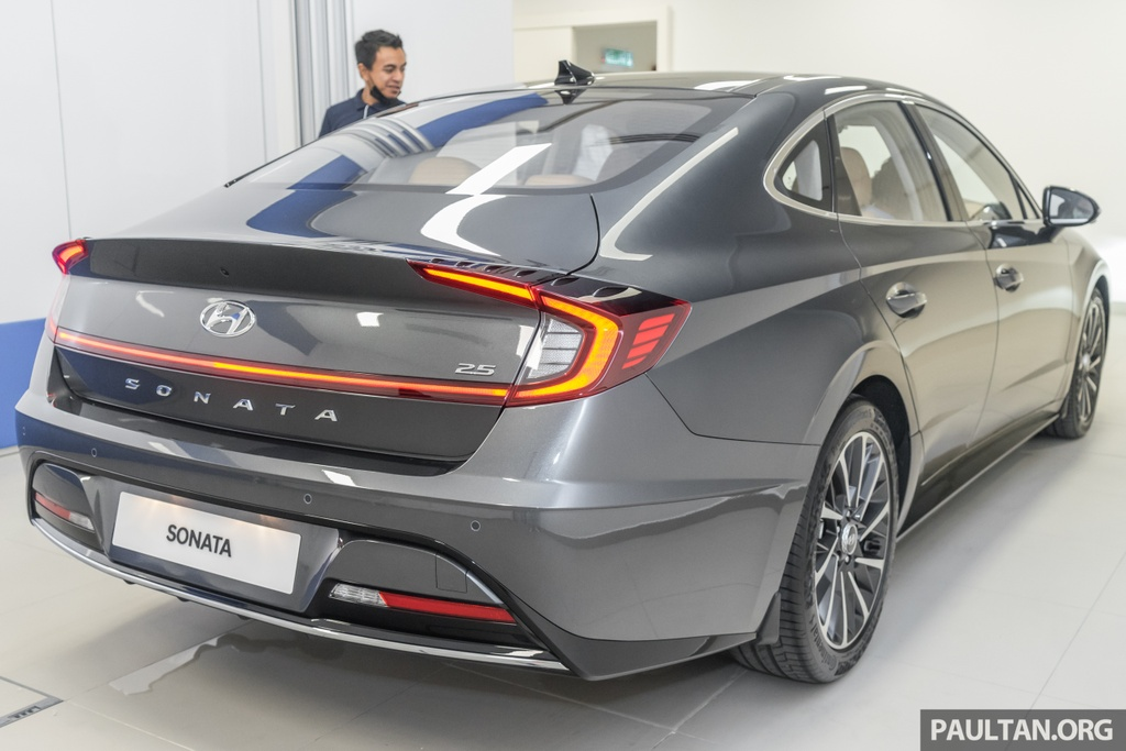 Hyundai Sonata 2020 duoc ra mat tai Malaysia anh 3