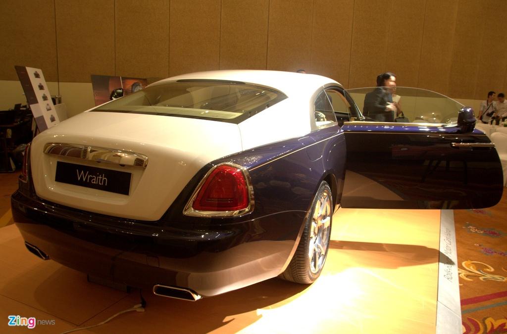 Nhung mau xe Rolls-Royce duoc phan phoi chinh hang anh 9