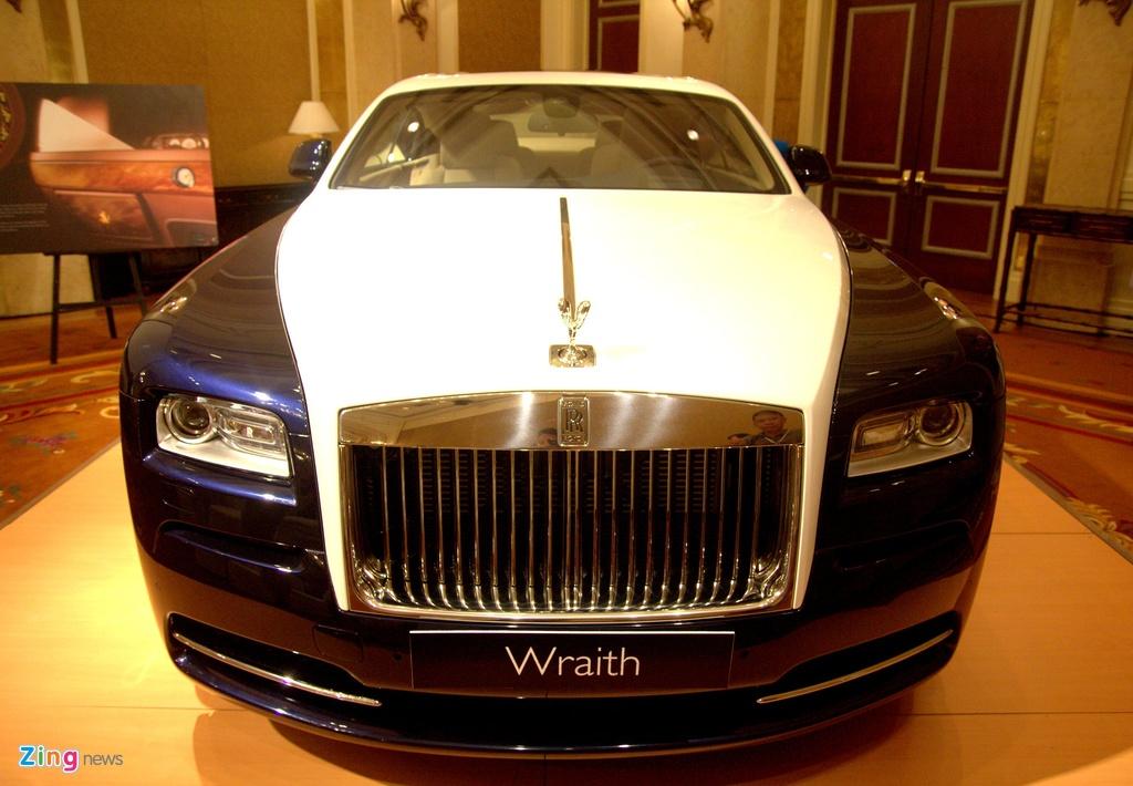 Nhung mau xe Rolls-Royce duoc phan phoi chinh hang anh 10