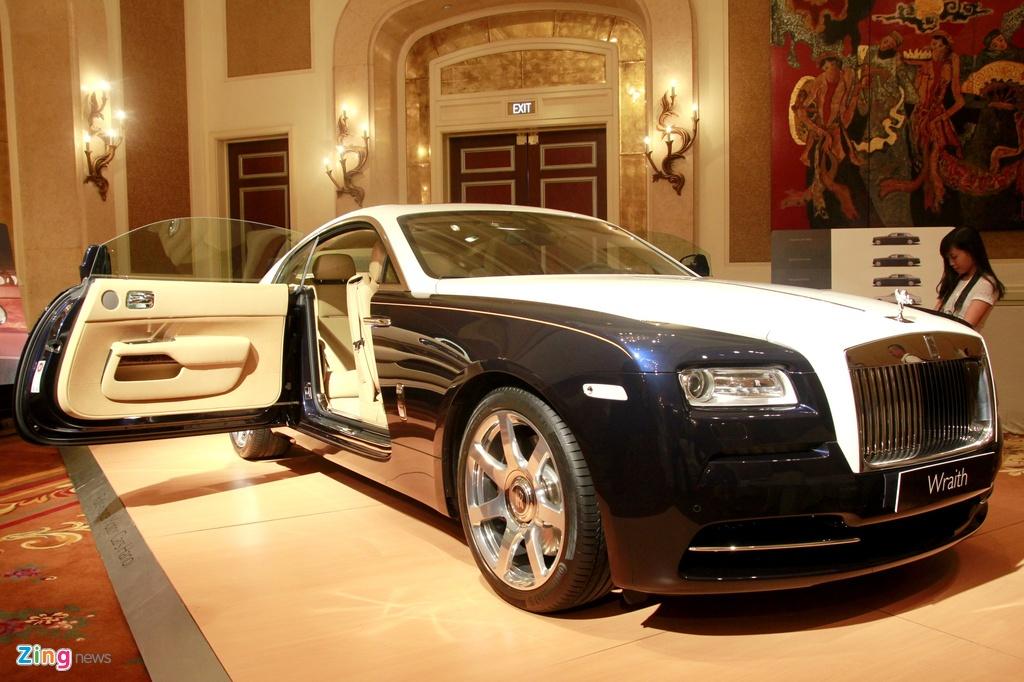 Nhung mau xe Rolls-Royce duoc phan phoi chinh hang anh 8