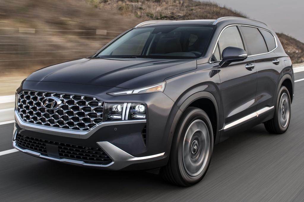 Hyundai Santa Fe 2021 duoc ra mat tai My anh 1