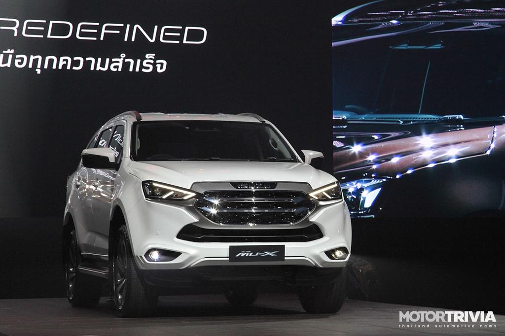 Isuzu MU-X thế hệ mới được ra mắt tại Thái Lan