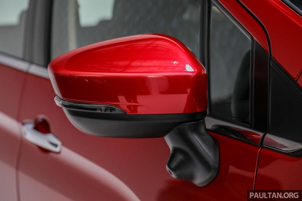 Mitsubishi Xpander ra mat Malaysia anh 10