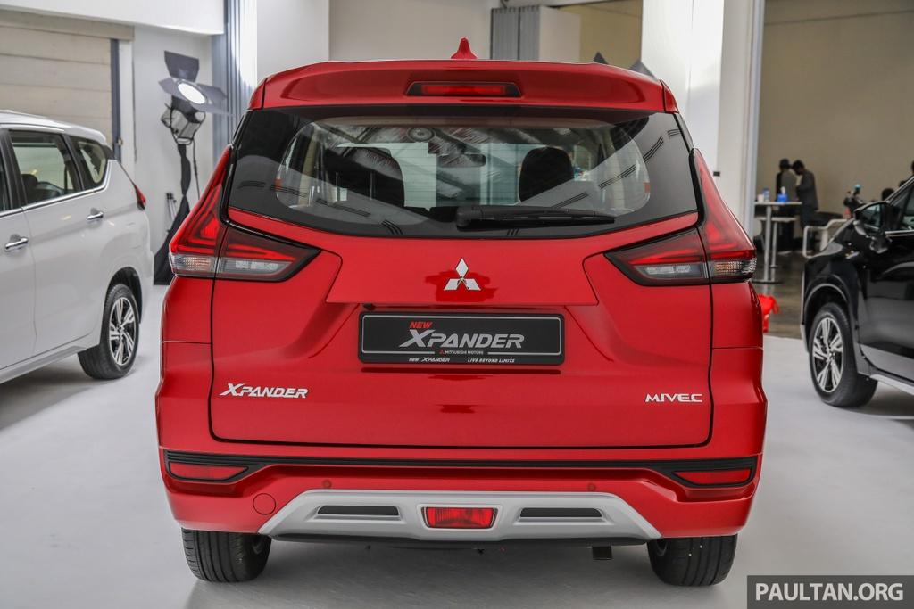 Mitsubishi Xpander ra mat Malaysia anh 2
