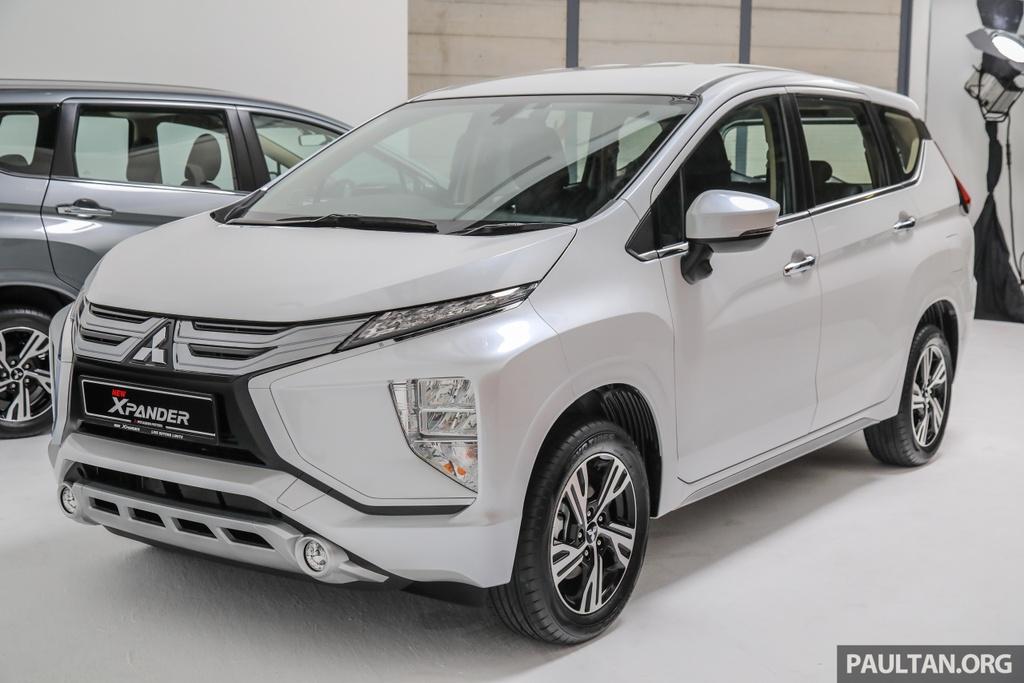 Mitsubishi Xpander ra mat Malaysia anh 3