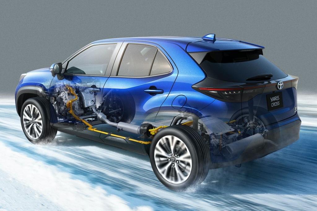 Toyota Yaris Cross ra mat anh 5