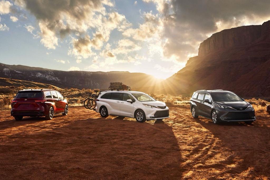 Toyota Sienna 2021 ra mat tai My anh 1
