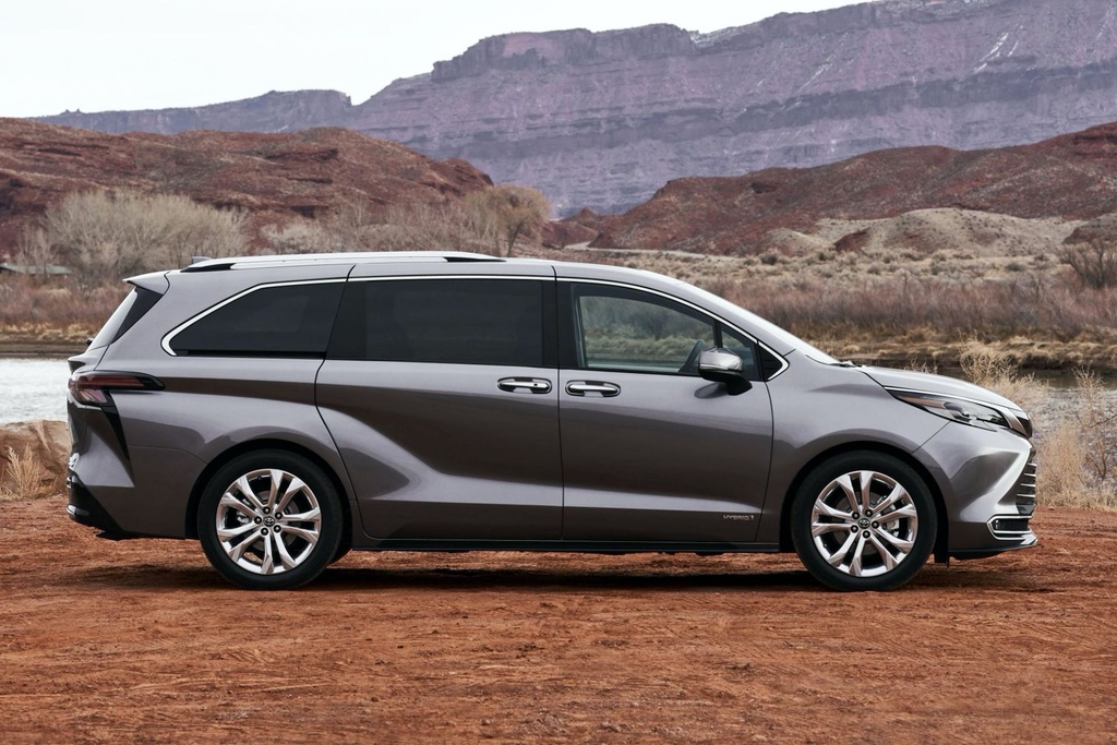 Toyota Sienna 2021 ra mat tai My anh 4