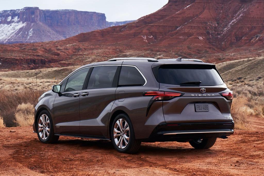 Toyota Sienna 2021 ra mat tai My anh 3