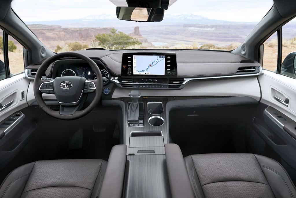 Toyota Sienna 2021 ra mat tai My anh 9