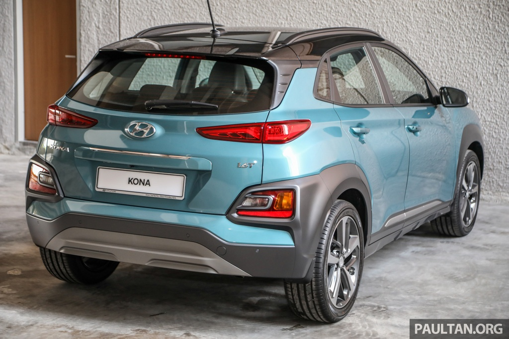 Hyundai Kona ra mat Malaysia anh 2