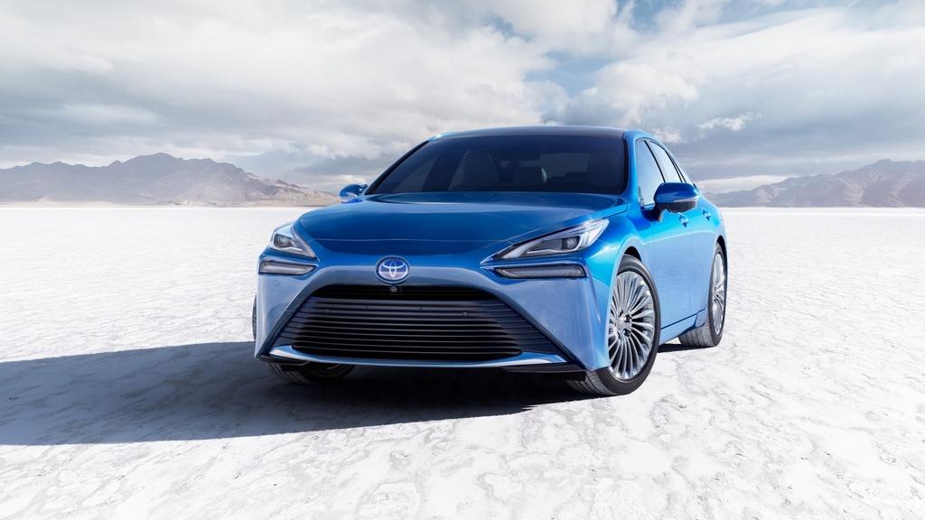 Toyota Mirai 2021 lo dien anh 6