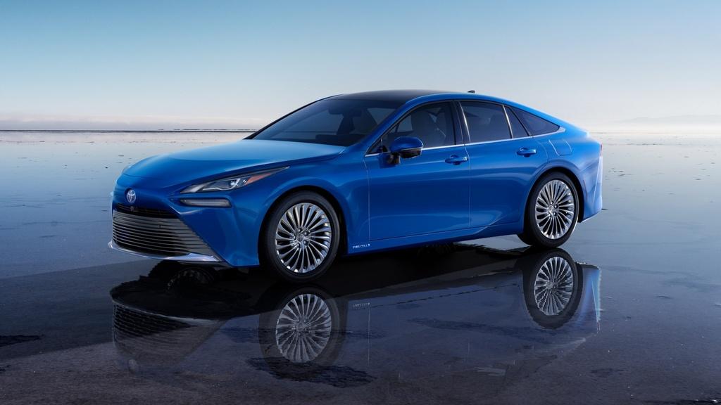 Toyota Mirai 2021 lo dien anh 5
