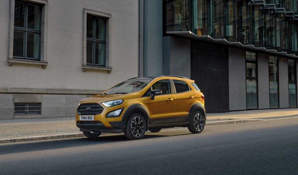 Ford EcoSport Active 2021 ra mat anh 1