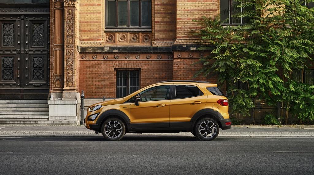Ford EcoSport Active 2021 ra mat anh 2