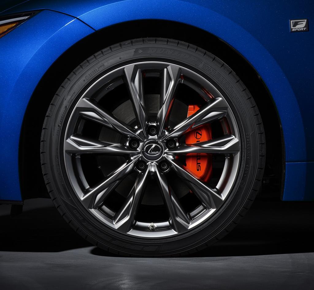 Lexus IS 2021 ra mat anh 5
