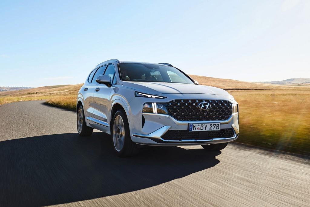 Hyundai Santa Fe 2021 ra mat Australia anh 7