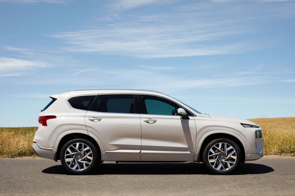 Hyundai Santa Fe 2021 ra mat Australia anh 3